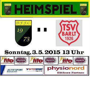 Das nächste Spiel: DFFC II – TSV Barlt II