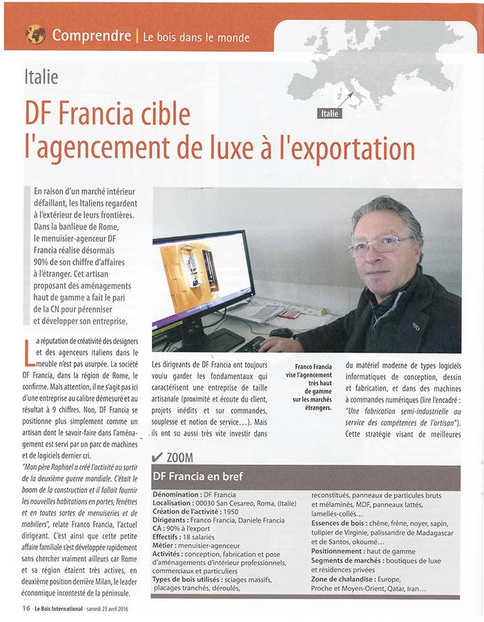 """Le Boìs International"", pagina 1"