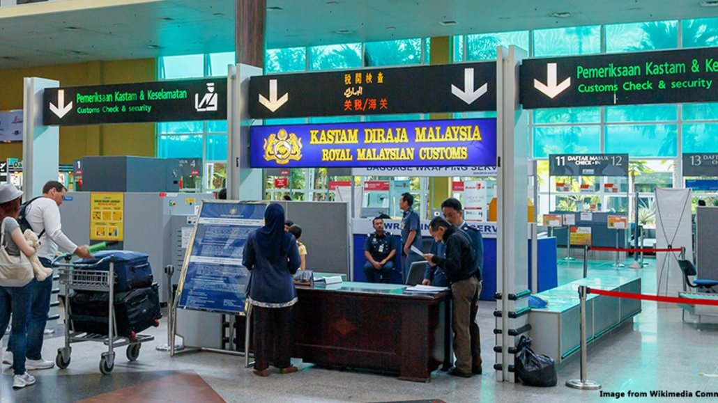 China to Malaysia