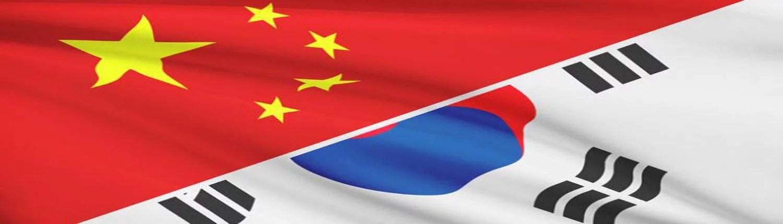 China to South Korea