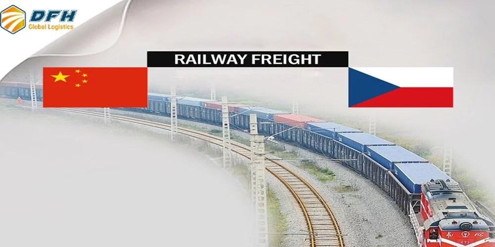 shipping from China to Czech Republic
