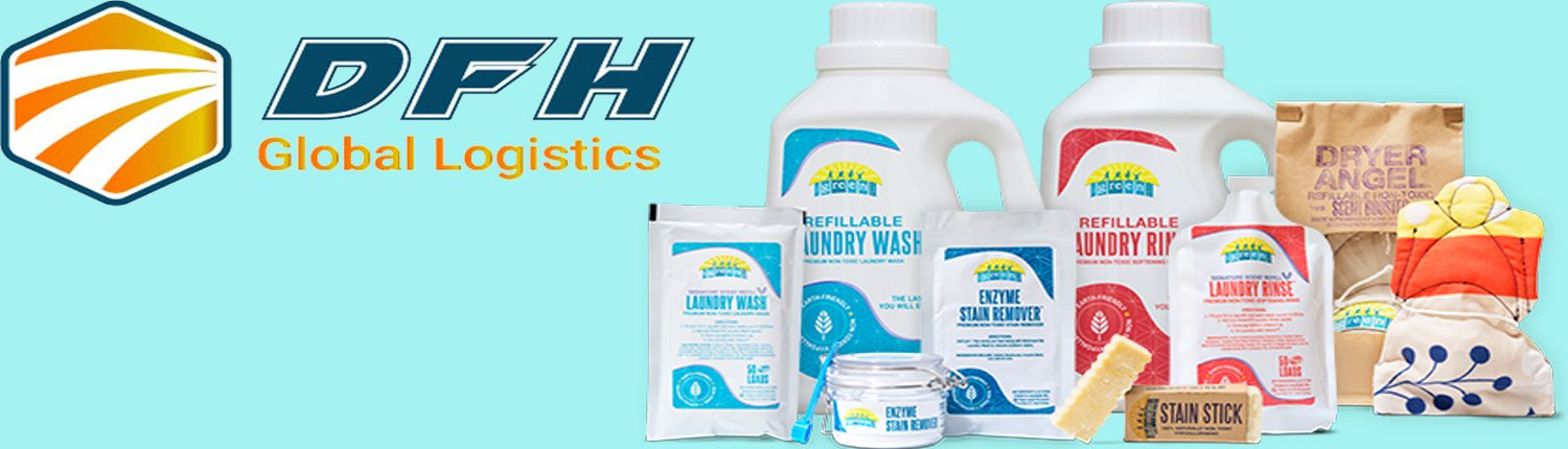 how to import and ship laundry supplies from China