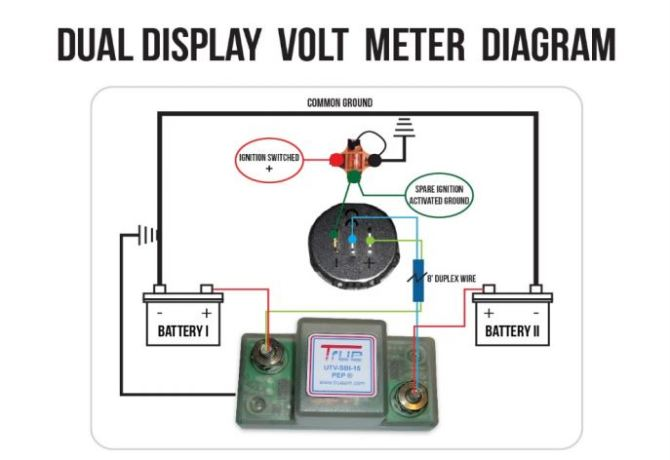 12v dual battery isolator wiring diagram car boat marine