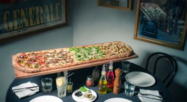 1 Meter Long Pizzas, Heart Shaped Crusts Are What You've Been Waitin' For!