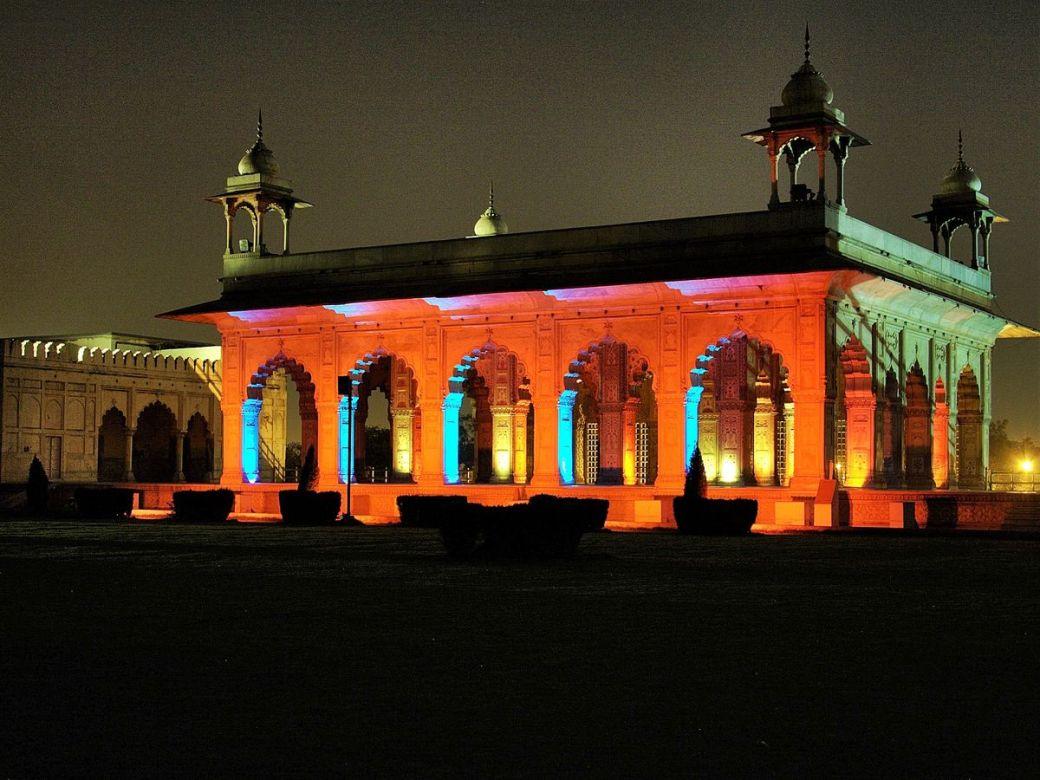 Red Fort Lighting DforDelhi