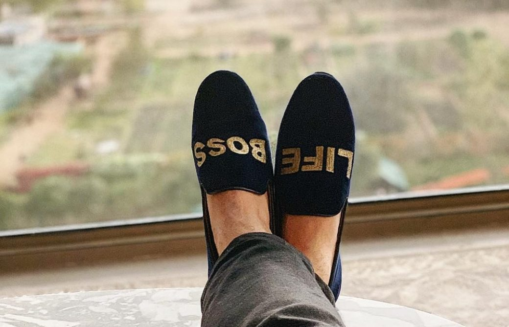 Customized Loafers DforDelhi