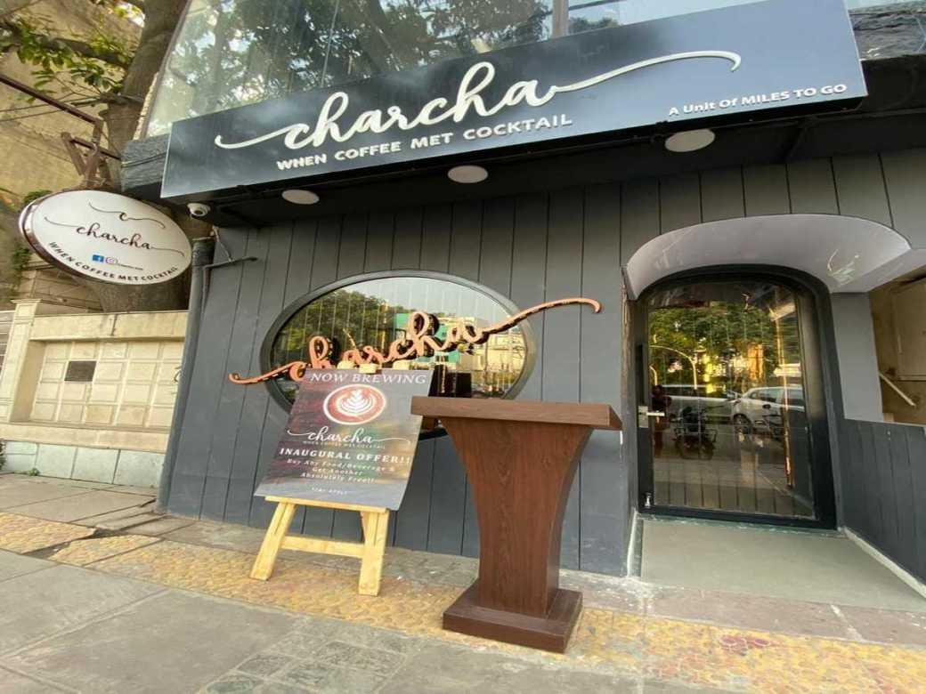 Charcha Cafe vijay nagar DForDelhi