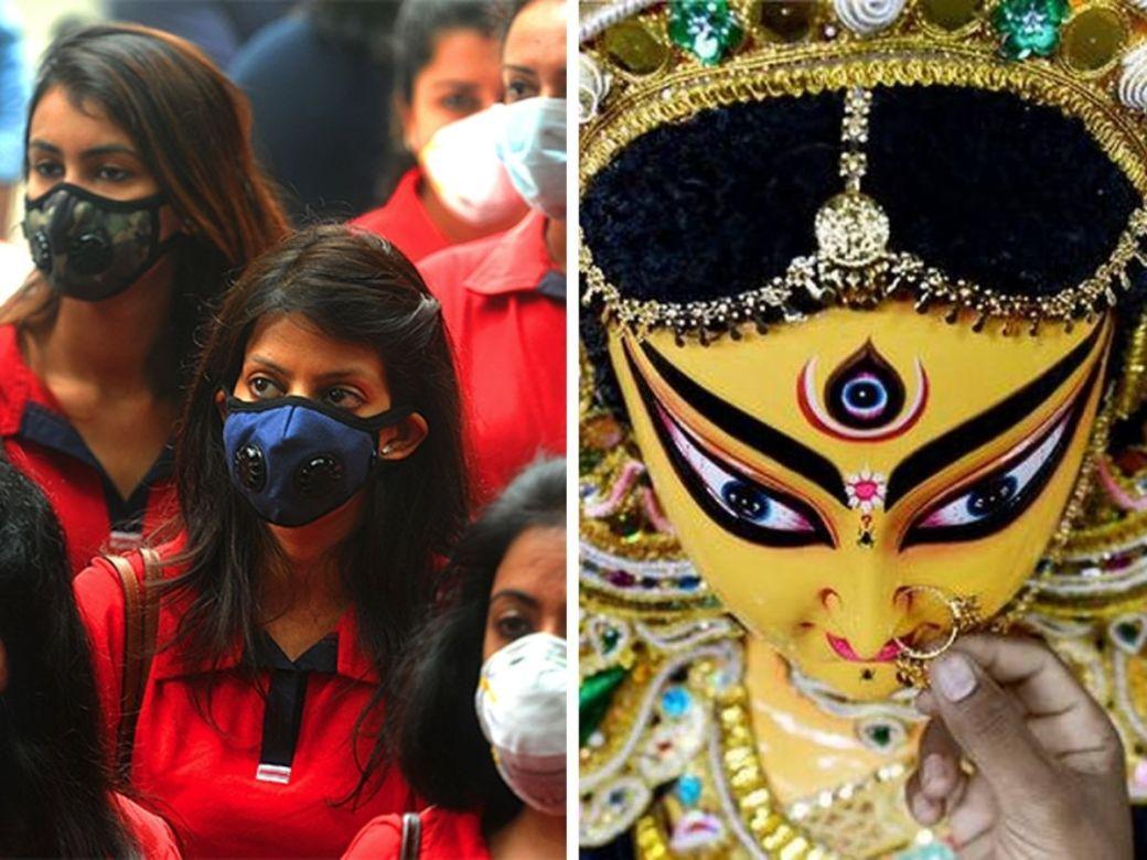durga puja 2020, durga puja guidelines, durga puja conditions, event conditions in delhi, durga puja conditions in delhi, ramleela conditions in delhi