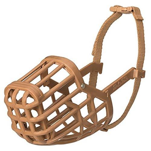 Classic Baskerville Dog Muzzle Cage Basket Muzzle