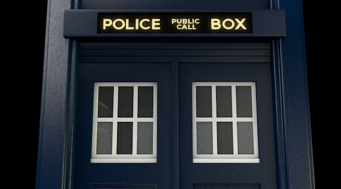 3D Model Released: TARDIS from Doctor Who