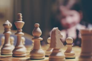 chess game represents strategy