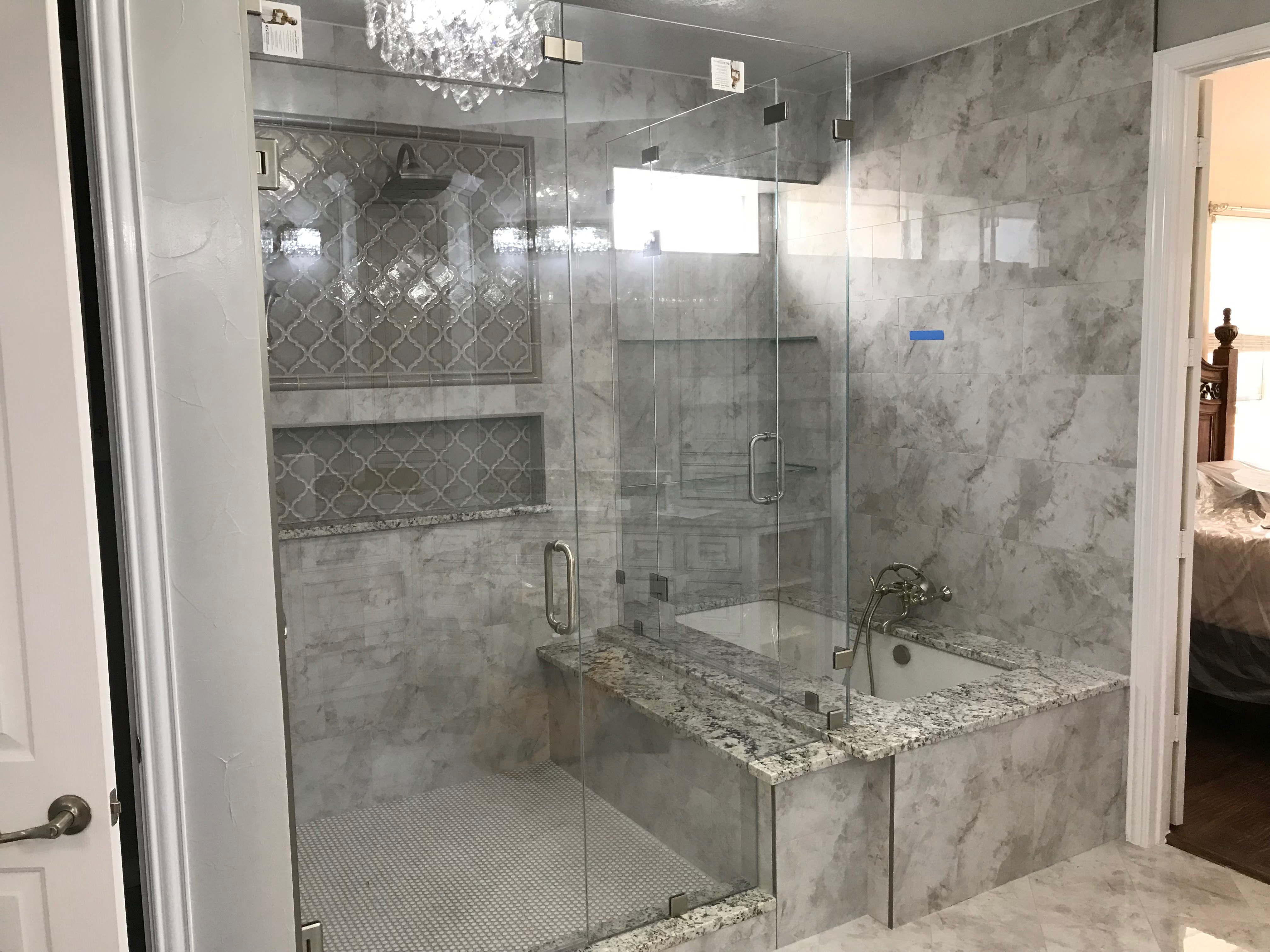 Frameless Shower Portfolio Page Example Pictures Of Our Work