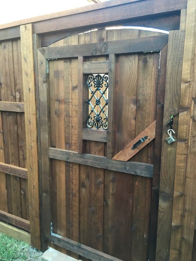 Wood Gates Dfw Fence Contractor
