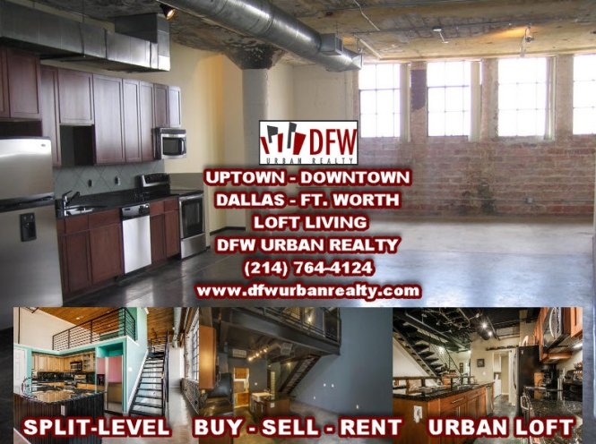 Downtown Dallas Tx Lofts For