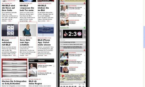 Bild.de App Werbung – Typisch Bild Zeitung