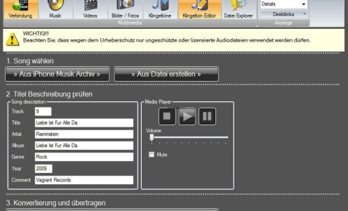iPhone Explorer – Nettes Tool für Windows