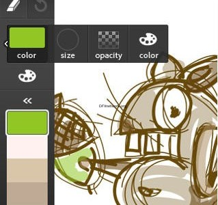 Adobe Ideas – Skizzen Block mit Layern