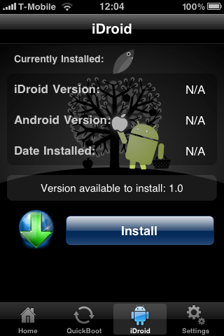 Bootlace V2 iDroid