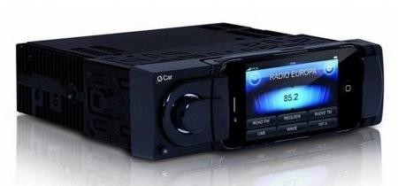 Autoradio mit iPhone Dock