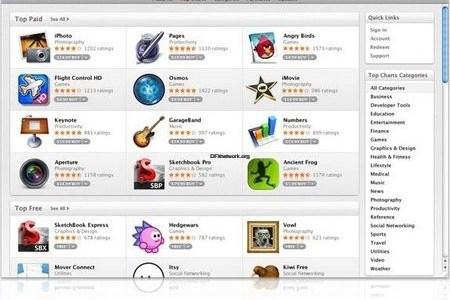 Mac App Store ist da