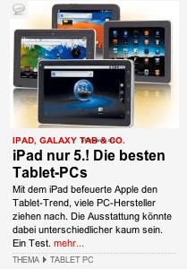 BILD.de – iPad 2 auf dem 5. platz