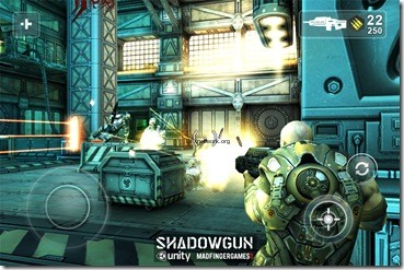 Shadowgun Screen Shot 1