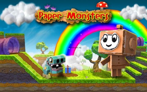 Paper Monsters – Gute Jump&Run kost auf dem iPhone