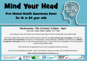 mind your head event