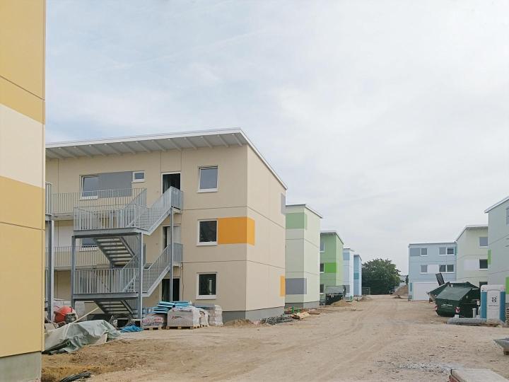 MFH-Siedlung Bau