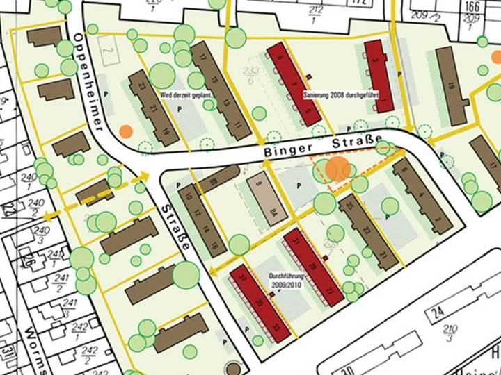 Moltkestraße Plan