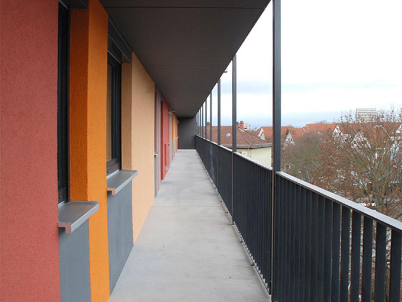 Binger Straße Laubengang