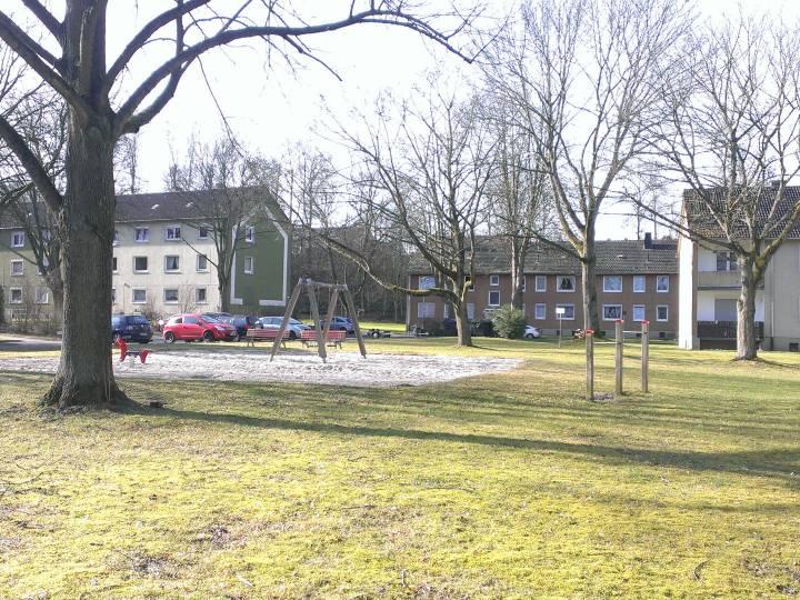 Siedlung Bochum vorher