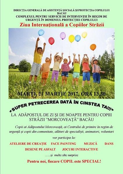 Ziua internationala a Copiilor Strazii