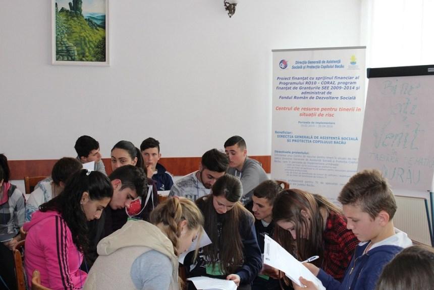 O noua finantare pentru Centrul de Resurse pentru Tineri din cadrul DGASPC Bacau