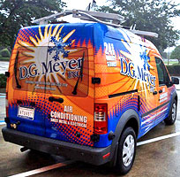 D.G. Meyer Inc. Service Van