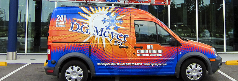 DGM Wrapped Service Vehicle