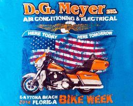 Bike Week Tee 2014