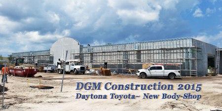 Daytona Toyota is building a new BodyShop