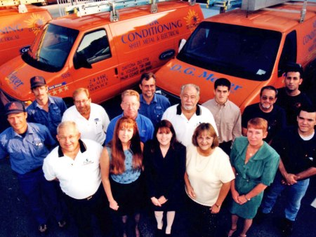 Office Staff and Employees Late 1990s...