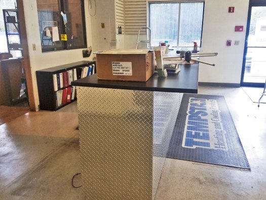 Florida Cooling Counter Remodel