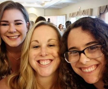 Megan, Heather and Gaia