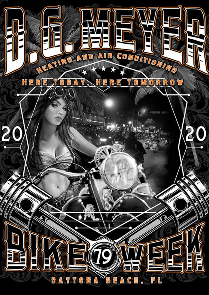 Bike Week 2020 Pin Me