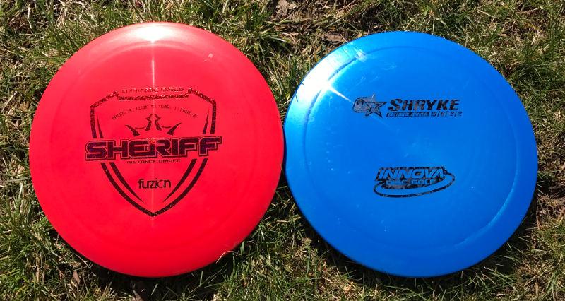 Dynamic Discs Sheriff vs Innova Shryke