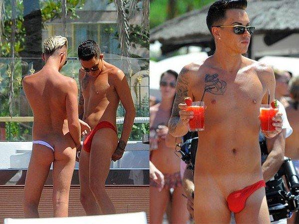 男士们小歪丁字裤「包蛋裤」 你敢穿吗?