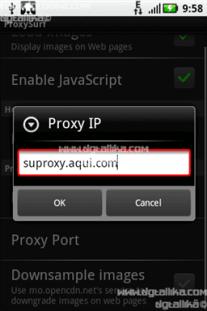 entrar proxy