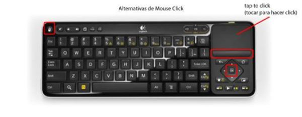 Alternativas de Mouse Click