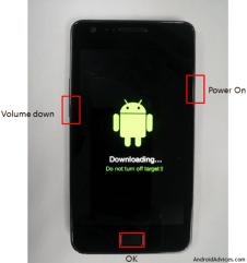 Modo Download Galaxy S II