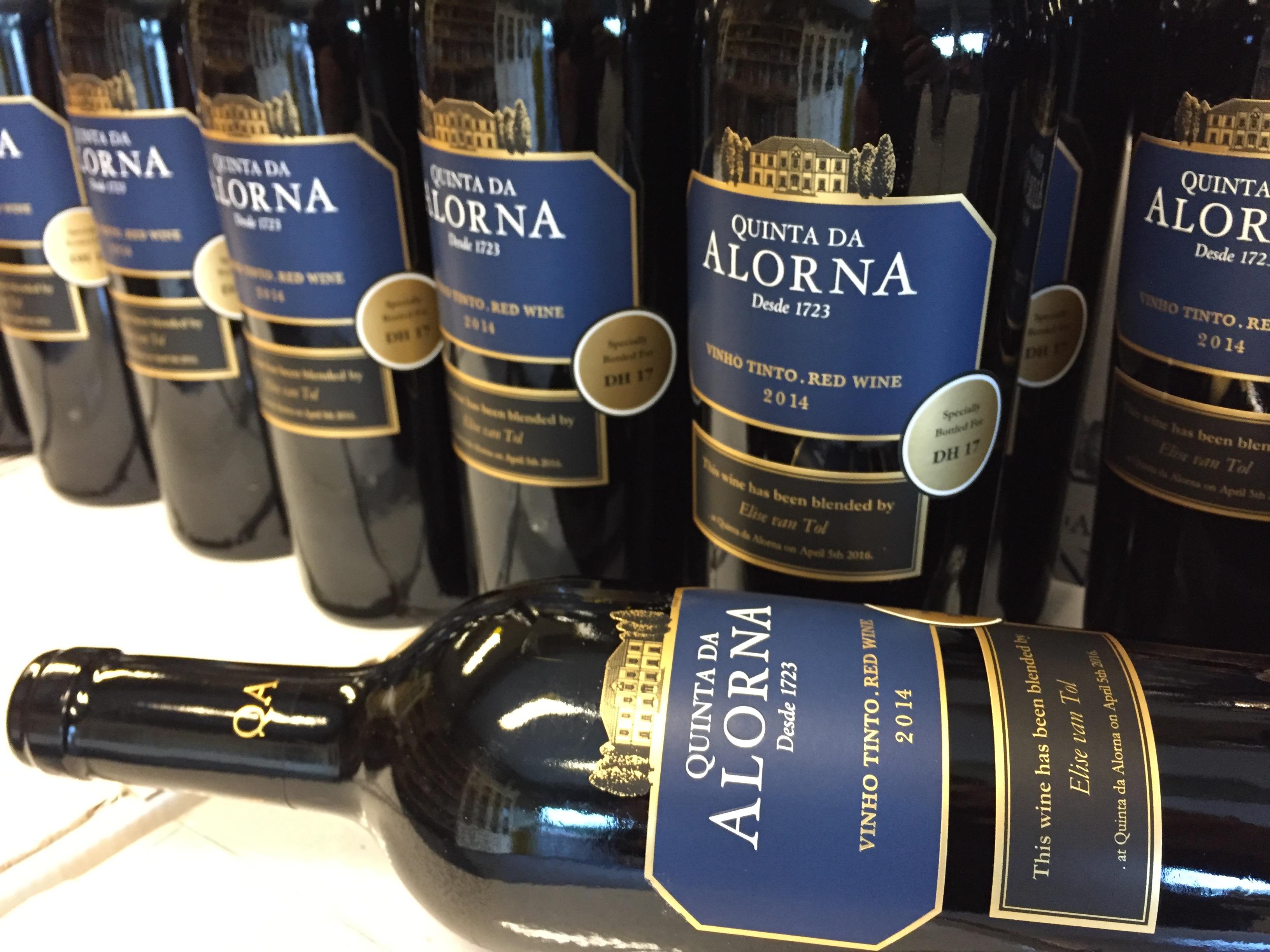 Onze 'eigen' wijn! Quinta da Alorna 2014 Cuvée DH17