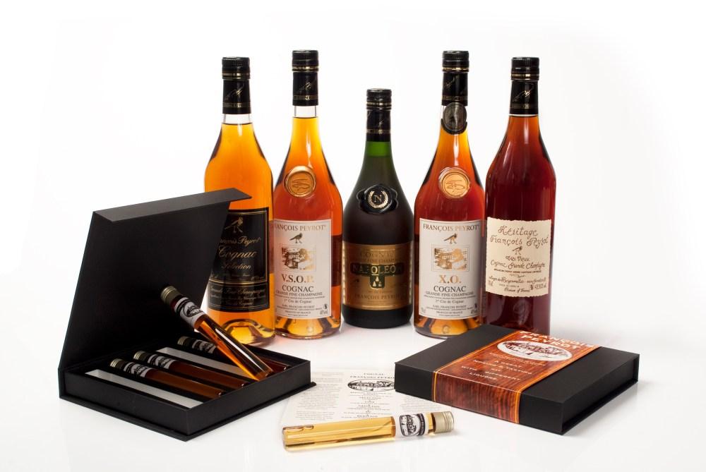Proefdoosje-5-jaargangen-Cognac-Francois-Peyrot-1