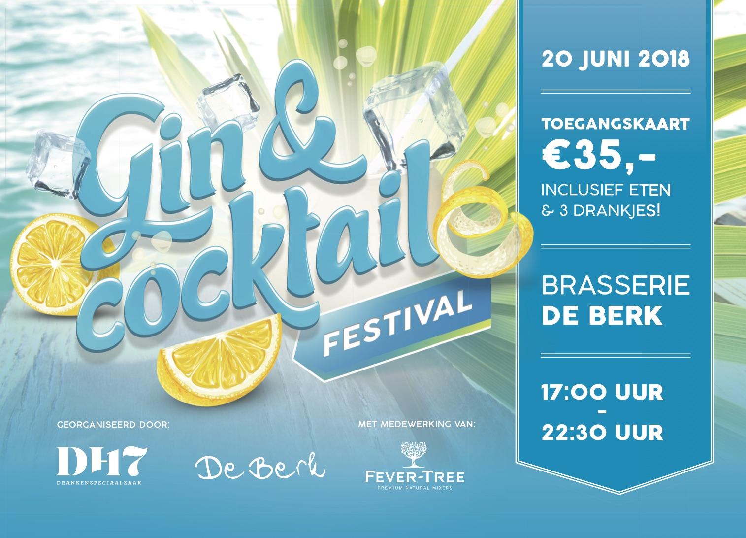 Gin & Cocktail Festival – praktische info